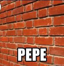 Brick Wall Meme - pepe brick wall meme generator