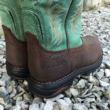 pull on motorcycle boots ariat women u0027s tracey pull on h20 composite toe work boots 10015405