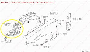 fender liner clip and locations nissan forums nissan forum