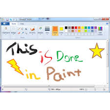 how the capabilities of paint in windows 7 have been enhanced