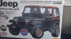 jeep tamiya tamiya jeep wrangler yj youtube