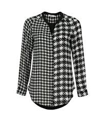houndstooth blouse houndstooth blouse rickis