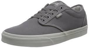 light grey mens shoes amazon com vans atwood men s shoes check liner gray light gray