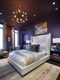 contemporary bedroom with purple walls and platform bed also wool contemporary bedroom with purple walls and platform bed also wool area rug