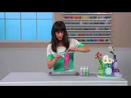 how to tint glass with liquid fill paint from martha stewart