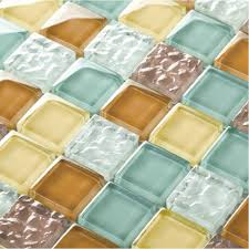kitchen and floor decor tst glass tiles multi color chips kitchen chocolate mosaic