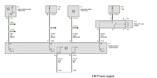 bmw e46 climate control wiring diagram circuit and schematics