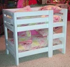 Bunk Bed For Dolls American Doll Bunk Beds Do It Yourself Home Projects From