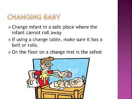 Rails Change Table Change Infant In A Safe Place Where The Infant Cannot Roll Away