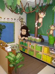 theme classroom decor interior design creative monkey themed classroom decorations