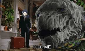 Feed Me Seymour Meme - audrey and seymour tumblr