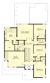 3 4 Bath Floor Plans by Contemporary Style House Plan 4 Beds 3 00 Baths 3110 Sq Ft Plan