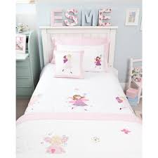 fairy cot bed duvet set children u0027s bedding babyface