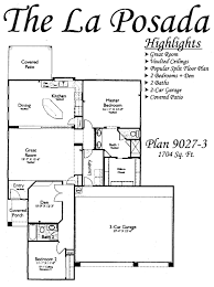 floor plans for the la posada models inside arizona traditions an