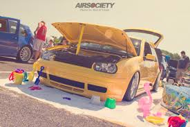 vwvortex com meloyelo bagged 20th anniversary gti from waterfest