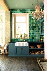Modern Backsplash Kitchen Green Kitchen Tile Backsplash Kitchen Images Hexagon Tile Green