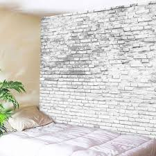 stone brick decorative tapestry wall hangings grey white w inch