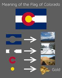 what do color mean the meaning of the flag of colorado x post r vexillology colorado