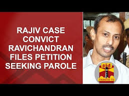 Seeking 1 Channel Rajiv Convict Ravichandran Files Petition Seeking 1 Month