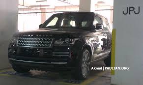 kereta range rover new range rover l405 sighted at jpj putrajaya
