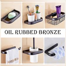 oil rubbed bronze bathroom accessories u2013 glorema com