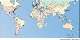 world map oceans seas bays lakes dead zones learn about teach science