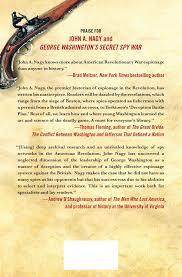 American Local History Network Washington by Amazon Com George Washington U0027s Secret Spy War The Making Of