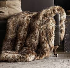 Furry Blanket Faux Fur Adds Panache To Fall Home Decor The Columbian