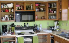 Kitchen Cabinets Without Doors Interesting Kitchens Without Cabinets On Decorating Kitchen