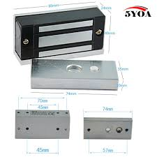 aliexpress com buy 12v electronic drawer lock electric magnetic