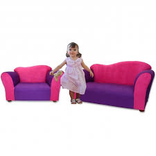 Childrens Chaise Lounge Children U0027s Chaise Lounge Wave Microsuede Sofa And Chair Set In