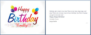 Print Business Cards Word Birthday Card Template Word