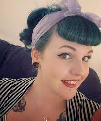 pinup clip in ponytail with bangs 40 pin up hairstyles for the vintage loving girl