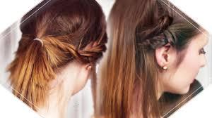 Schnelle Frisuren F Lange Haare Mit Pony by 3 Schnelle Und Einfache Frisuren I Mittellange Bis Kurze Haare I