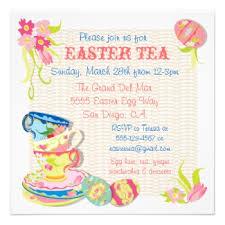 easter tea party easter tea party invitations the tea party hostess the tea
