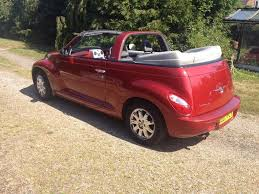 2007 pt cruiser 2 4 cabrio petrol manual 38 000 miles in
