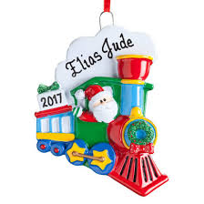 personalized train ornament train ornaments miles kimball