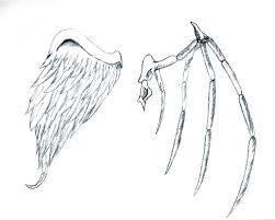 v s evil wings by poeticdarkness14 on deviantart wings