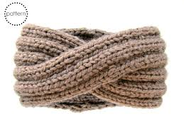 knitted headband pattern infinity headband knitting pattern ear warmer knitting