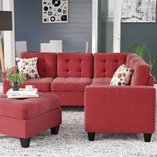 Red Sofa Sectional Red Sectional Sofas You U0027ll Love Wayfair