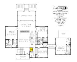 House Plans Coastal St George Cottage House Plan Coastal House Plans