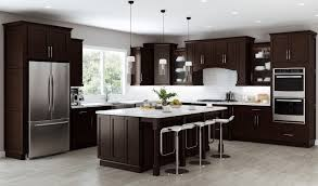 how to clean espresso cabinets southport espresso shaker ready to assemble kitchen