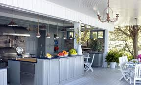 brown outdoor kitchen ideas for your home 5597 baytownkitchen inspiring outdoor kitchen ideas with elegant kitchen island under classic pendant lamp along with white wooden