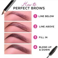 How To Fill Eyebrows How To Perfect Eyebrows Wakeup 4 Makeup Pinterest Eyebrow