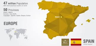 Catalonia Spain Map by Blog Bll Barcelona