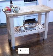 groland kitchen island from kitchen island to dual sink vanity apartment therapy