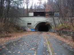 the abandoned pennsylvania turnpike a road to nowhere abandoned