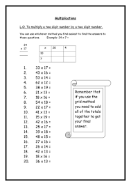 ideas collection long multiplication worksheets year 5 with format