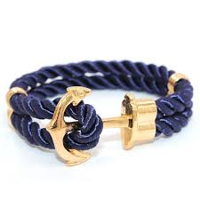 leather wrap bracelet with anchor images 2016 miansai gold silver anchor bracelet men wrap leather anchor jpg