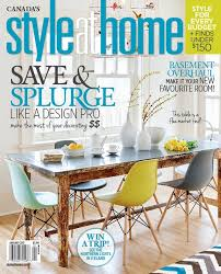 Home Decor Magazines Canada Style At Home Magazine Canada Home Style